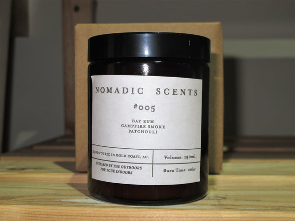 Nomadic Scents '#005 - Amber Jar' Candle