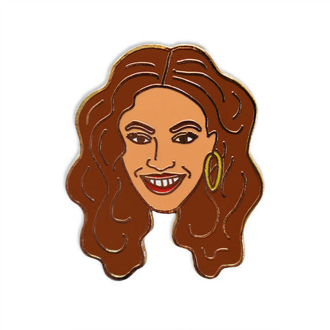 Georgia Perry - Georgia Perry 'Beyonce' Enamel Pin - Patches & Pins - Stock & Supply Stores