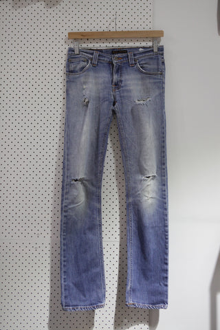 Vintage & Preloved 'Nudie Beyond Destroy' Denim Jeans