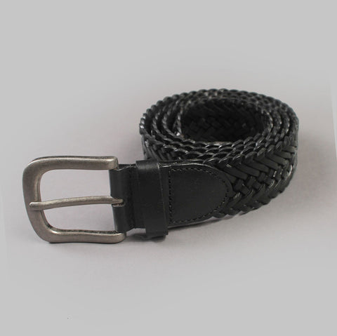 West Texas 'Braided - Black' Belt