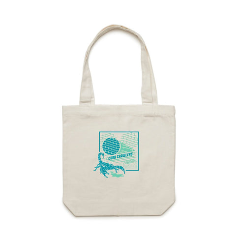 Stale Brand 'Curb Crawlers - Cream' Tote