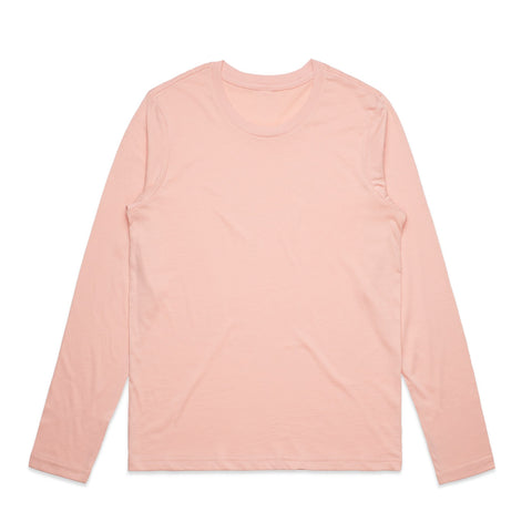 Wanderers Co 'Bloom - Pale Pink' Ladies Longsleeve Tee