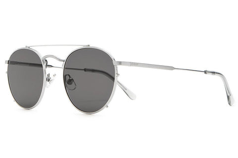 CRAP Eyewear 'Tuff Safari - Brushed Silver/Grey' Sunglasses