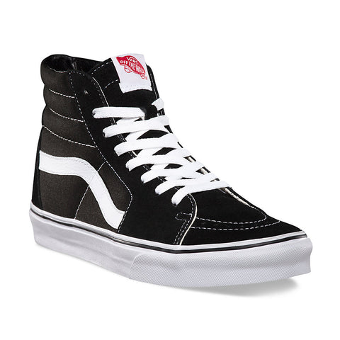Vans - Vans 'Sk8 Hi - Black/White' Shoes - Footwear - Stock & Supply Stores
