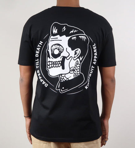 Kingfruit 'Dapper Till Death - Black' Tee