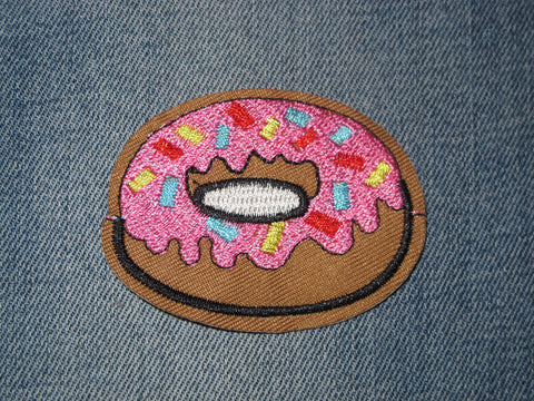 Patch & Pin 'Pink Donut' Patch