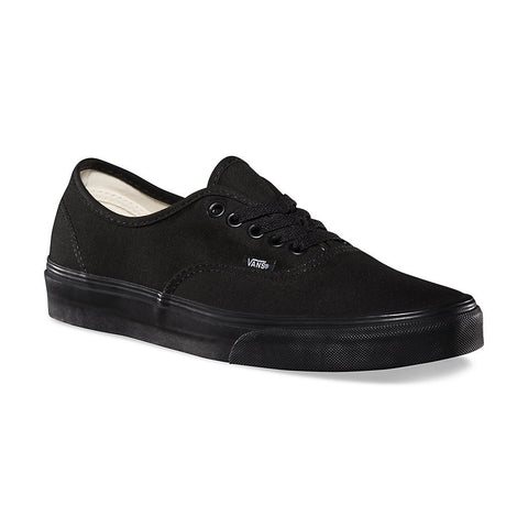 Vans - Vans 'Authentic - Black/Black' Shoes - Footwear - Stock & Supply Stores
