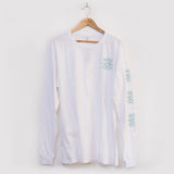 Tropical Doom 'Eye - White' Longsleeve Tee