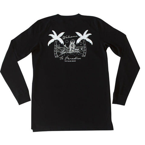 The Palms Brand 'Welcome - Black' Long sleeve