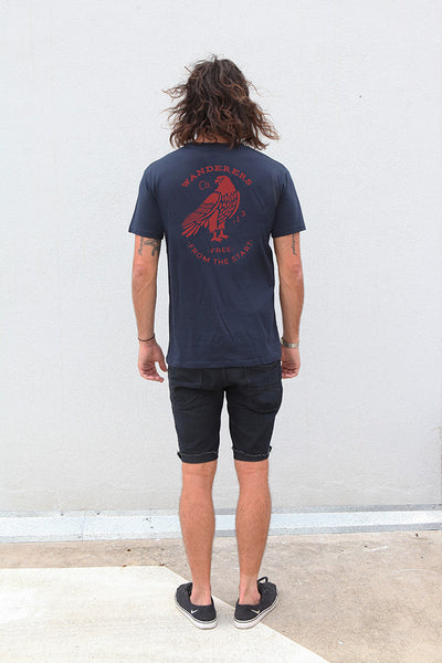 Wanderers Co 'From The Start - Navy' Tee
