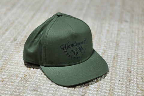 Wanderers Co 'Explore More - Army Green' Cap