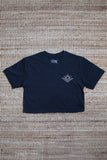 Wanderers Co 'Surf Club - Navy' Crop