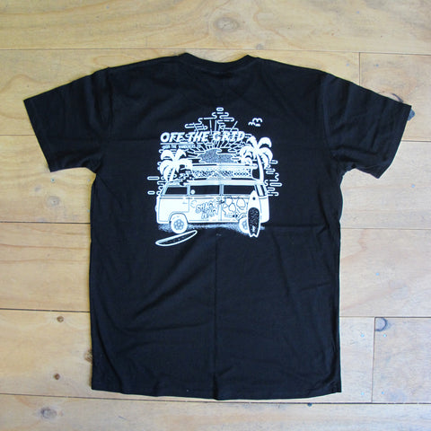 Wanderers Co 'Off the Grid - Black' Tee