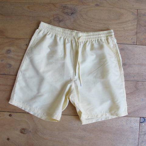 Huffer 'Staple - Lemon' Swim Trunk