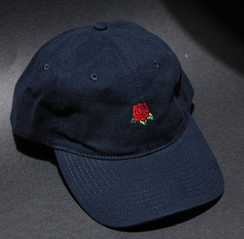 Hard Luck Club 'Rose - Navy' Dad Hat