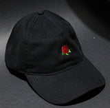 Hard Luck Club 'Rose - Black' Dad Hat