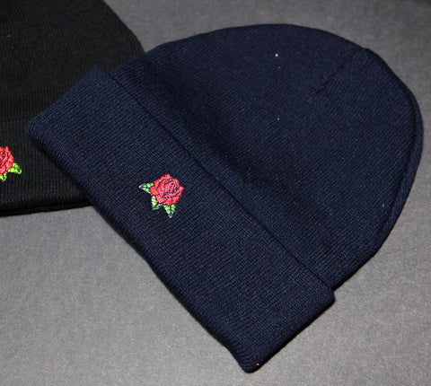 Hard Luck Club 'Rose - Navy' Beanie