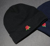 Hard Luck Club 'Rose - Black' Beanie