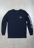 Wanderers Co 'Surf Club - Navy' Longsleeve Tee