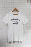 Banks Journal 'Monument - White' Tee