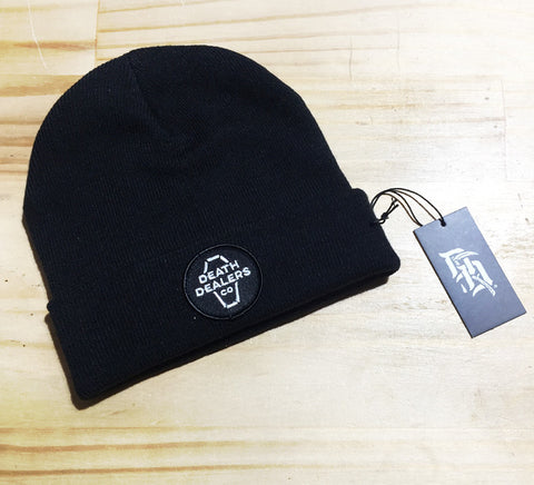 Death Dealers 'Coffin - Black' Beanie