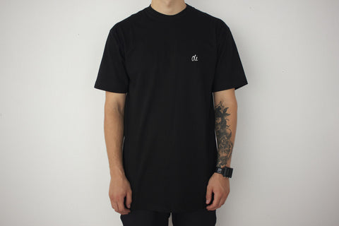 Oli Clothing - Oli Clothing 'Script Logo - Black' Tee - T-Shirt - Stock & Supply Stores