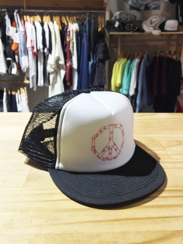 Anatta - Anatta 'Peace - Black/White' Cap - Cap - Stock & Supply Stores