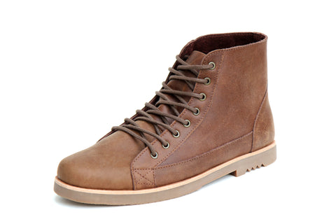 Mere Footwear - Mere Footwear 'Johnny - Oak' Boot - Footwear - Stock & Supply Stores