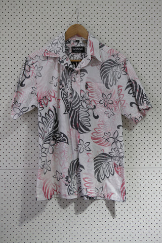 Vintage & Preloved 'Kau Kauwa' Button Up Shirt