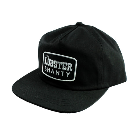 Lobster Shanty 'Starboard - Black' Cap