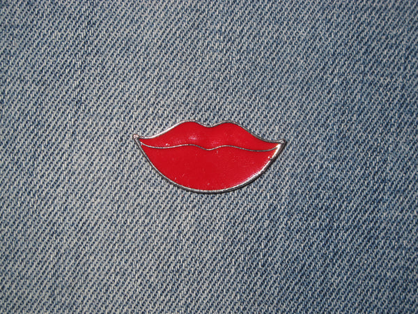 Patch & Pin 'Lips - Red Sexy' Badge Pin