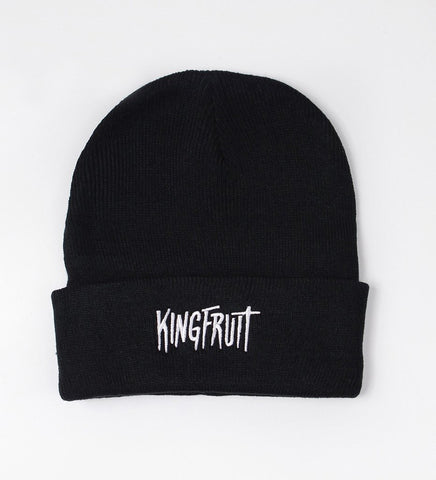 Kingfruit Apparel 'Logo - Black' Beanie
