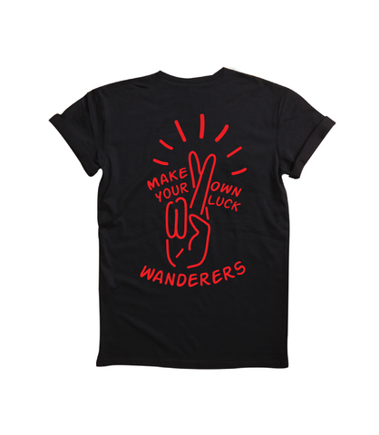 Wanderers Co 'Lucky - Black' Tee