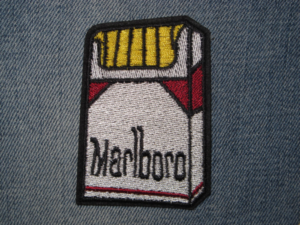 Patch & Pin 'Marlboro Cigarettes' Patch