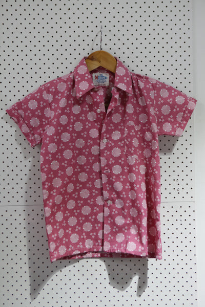 Vintage & Preloved 'Midford' Button Up Kids Shirt