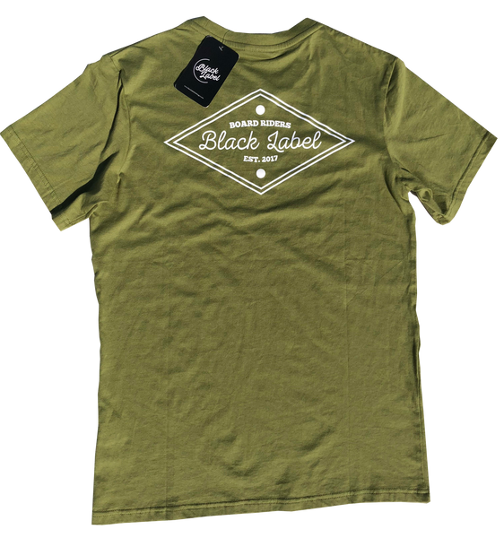 BLCC - BLCC 'Diamond Heads - Olive Green' Tee - T-Shirt - Stock & Supply Stores