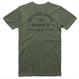 Wanderers Co 'Outdoor Goods - Army Green' Tee