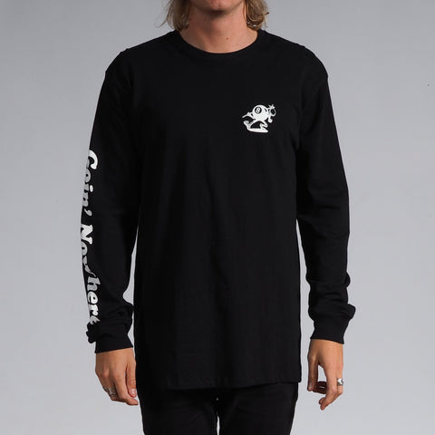 Jungles Jungles - Jungles 'Going Nowhere  - Black L/S' Tee - T-Shirt - Longsleeve - Stock & Supply Stores