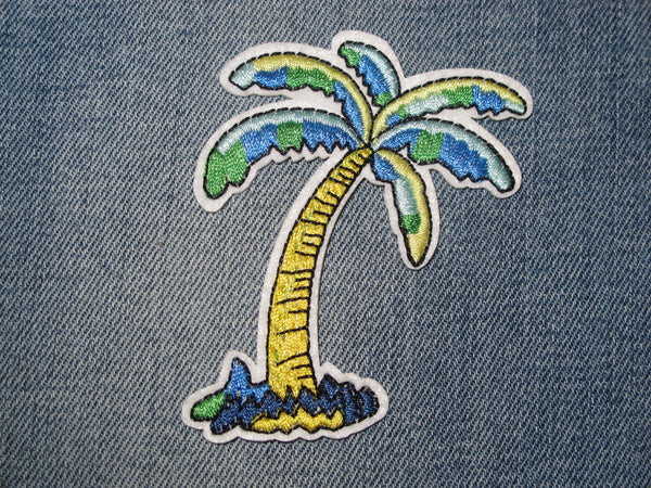 Patch & pin  'Palm Tree' Patch