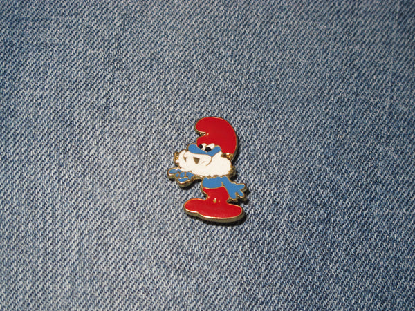 Patch & Pin 'The Smurfs - Papa Smurf' Badge Pin