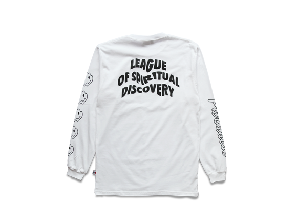Paradise Youth Club - Paradise Youth 'LSD - White' Longsleeve - LAST ONE!!! - T-Shirt - Longsleeve - Stock & Supply Stores