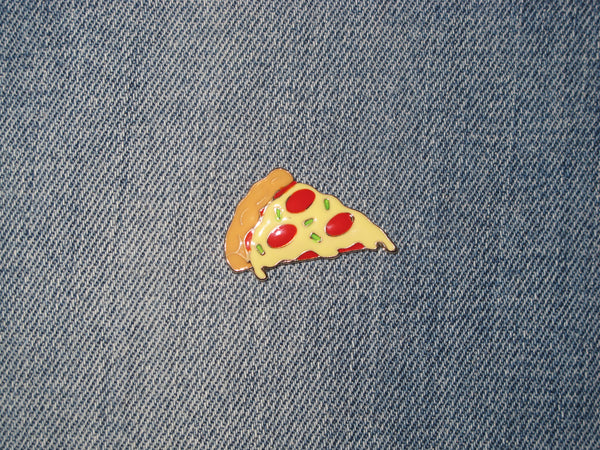 Patch & Pin 'Pizza Slice' Badge Pin