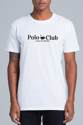 Always On The Run - A.O.T.R 'Polo Club Bunny - White' Tee - T-Shirt - Stock & Supply Stores