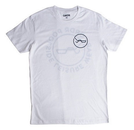 Ordr Co - ORDR CO 'Poolside Leisure - White' Tee - T-Shirt - Stock & Supply Stores