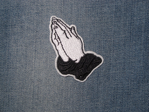 Patch & Pin 'Pray Hands' Patch