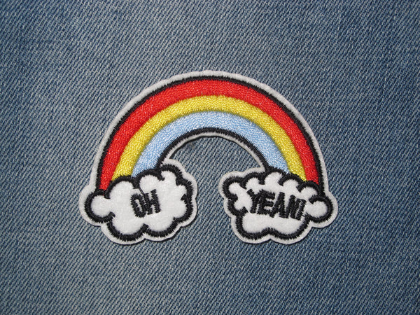 Patch & Pin ' Rainbow - Oh Yeah!' Patch