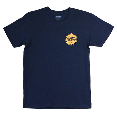 Lobster Shanty 'Road Trips - Navy' Tee