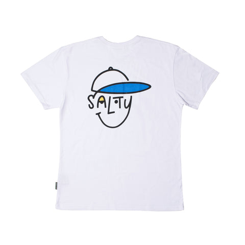 Salty Shoes 'Some Salty - White' Tee - LAST ONE!!!