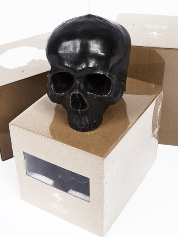 Thrills Co 'Black Skull' Soy Candle