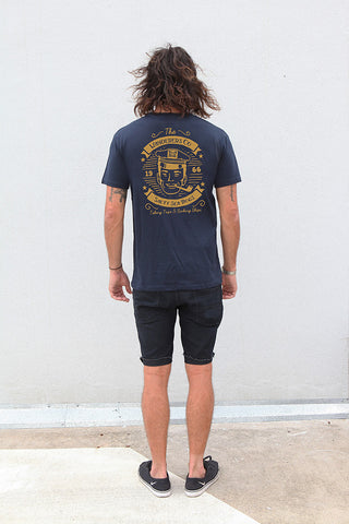 Wanderers Co 'Salty Sea Dogs - Navy' Tee